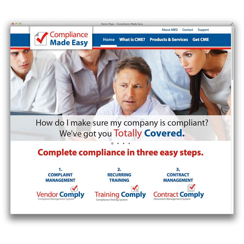 MBSi Compliance Made Easy Website