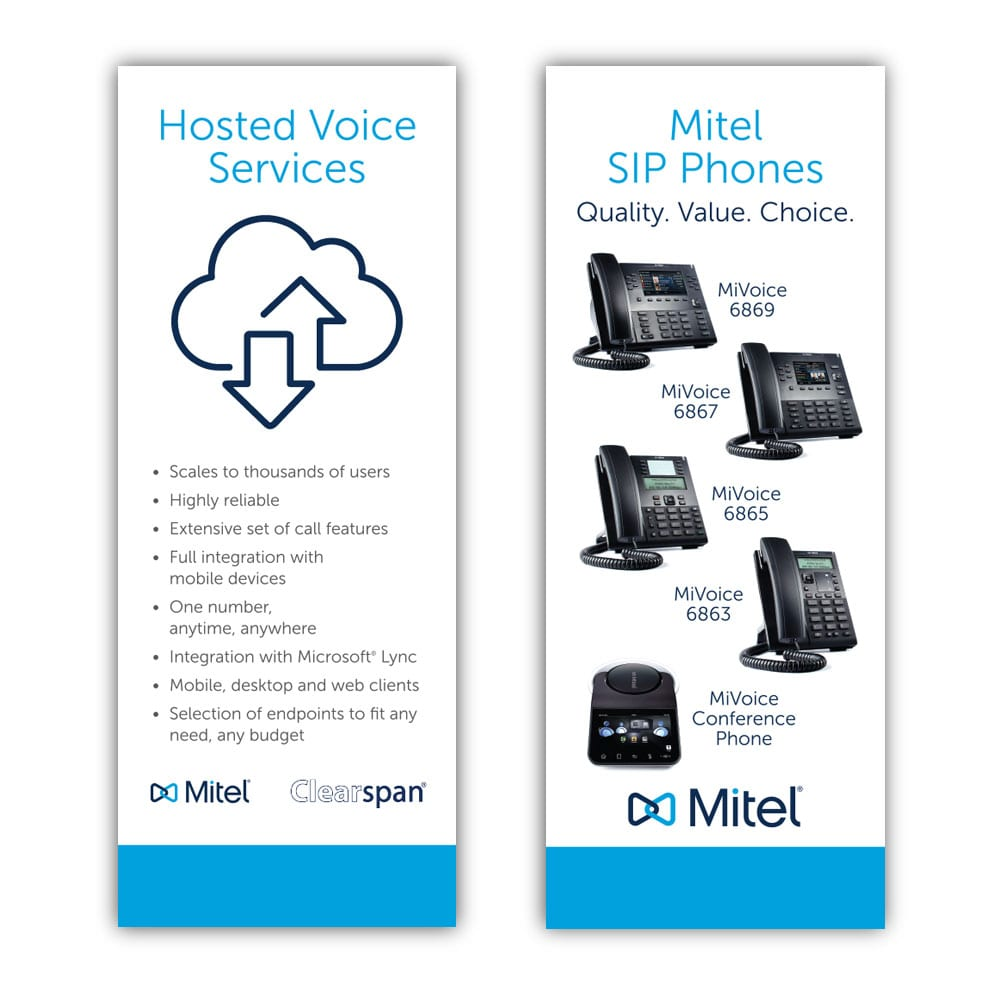 Mitel Trade Show Banners