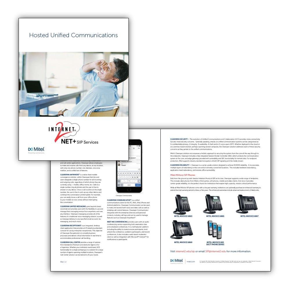 Mitel Internet2 Brochure