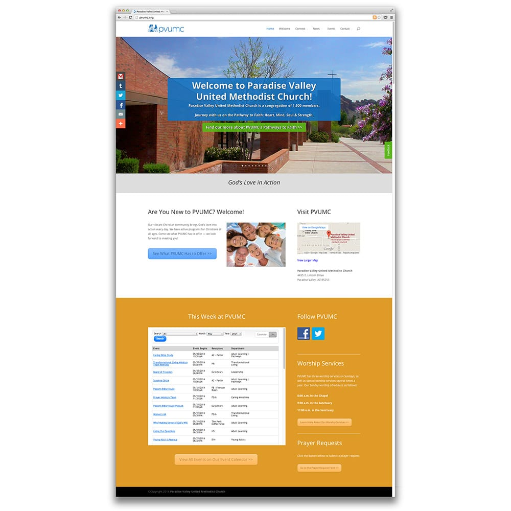 Paradise Valley United Methodist Church Habitat for Humanity Central Arizona Website