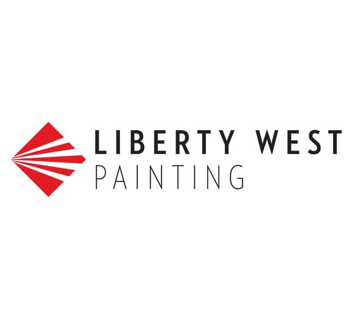 Liberty West Painting Logo