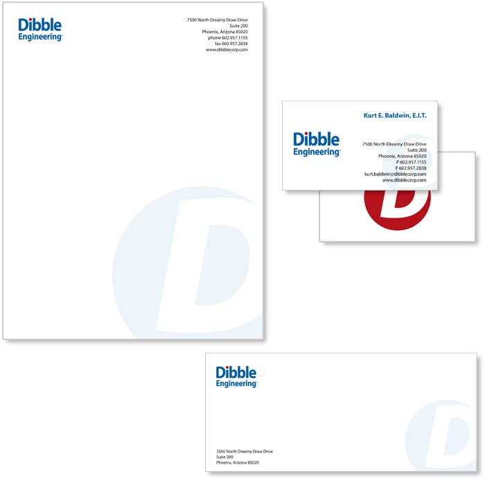 Dibble Engineering Stationery System