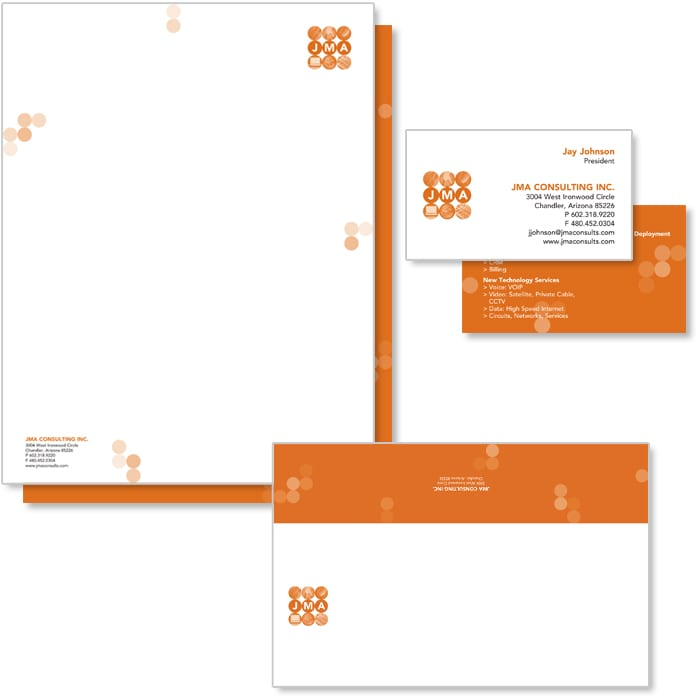 JMA Consulting Stationery System