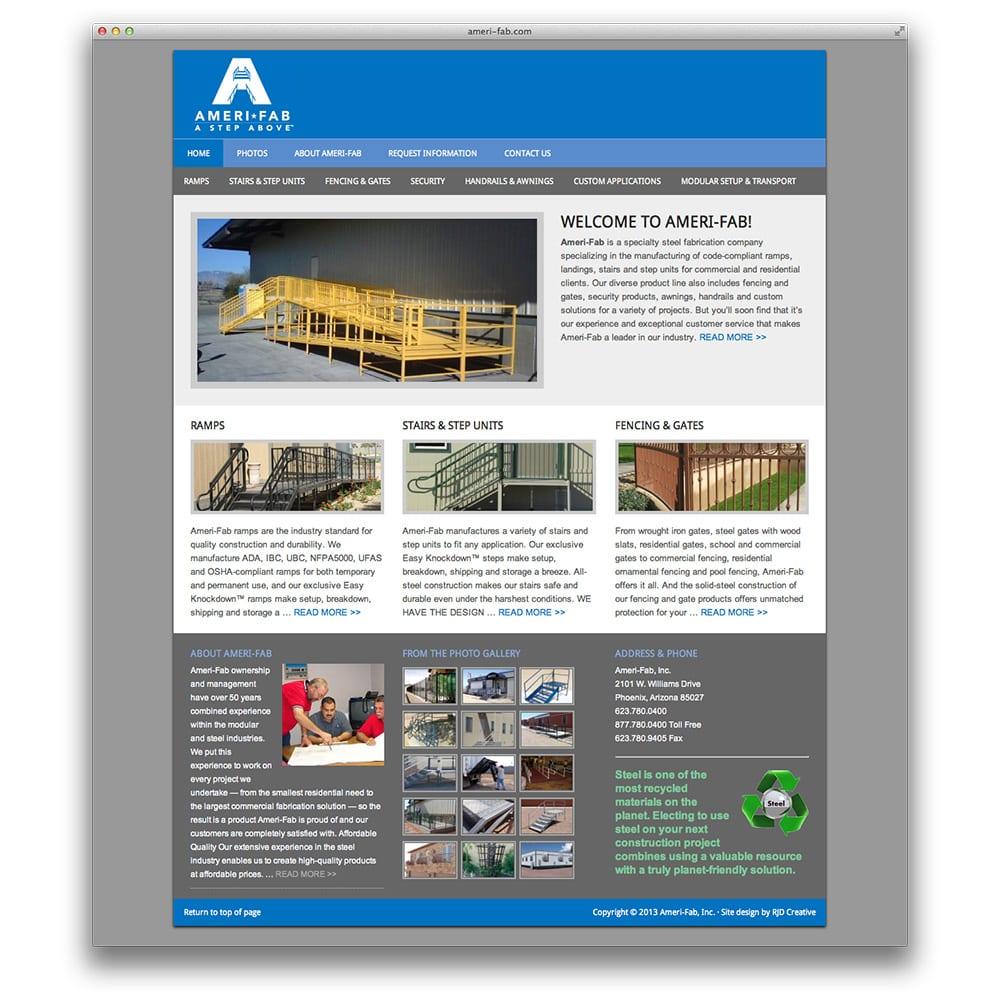 Ameri-Fab Website