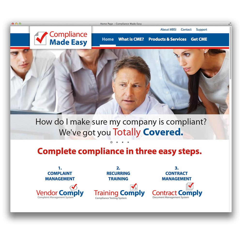MBSi Compliance Made Easy Website | comply-ez.com