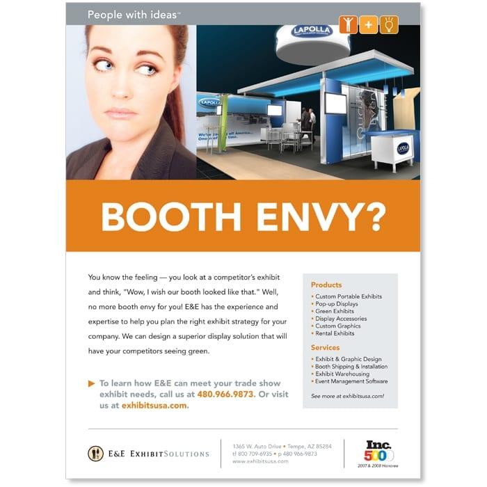 E&E Exhibit Solutions Print Ad
