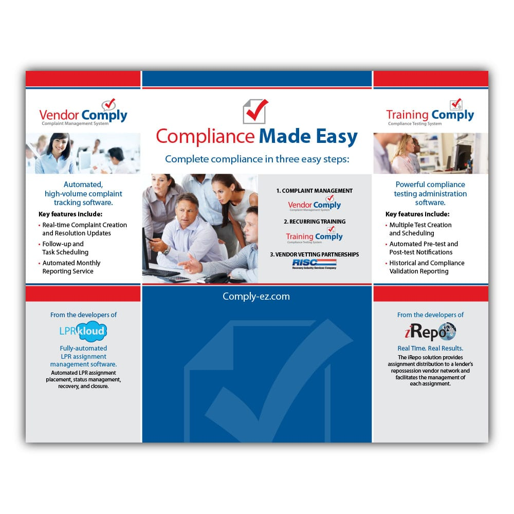 Compliance Made Easy Trade Show Booth