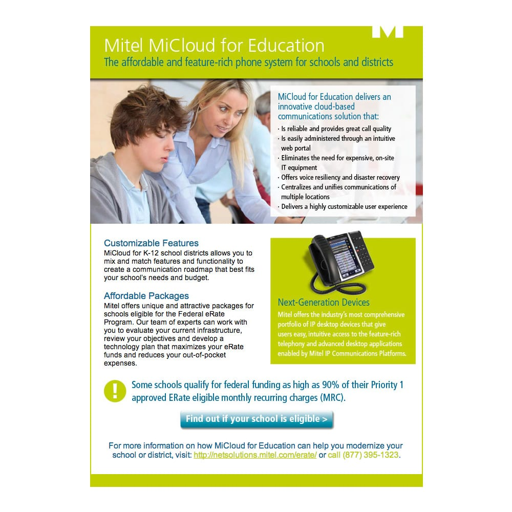 Mitel MiCloud for Education Email