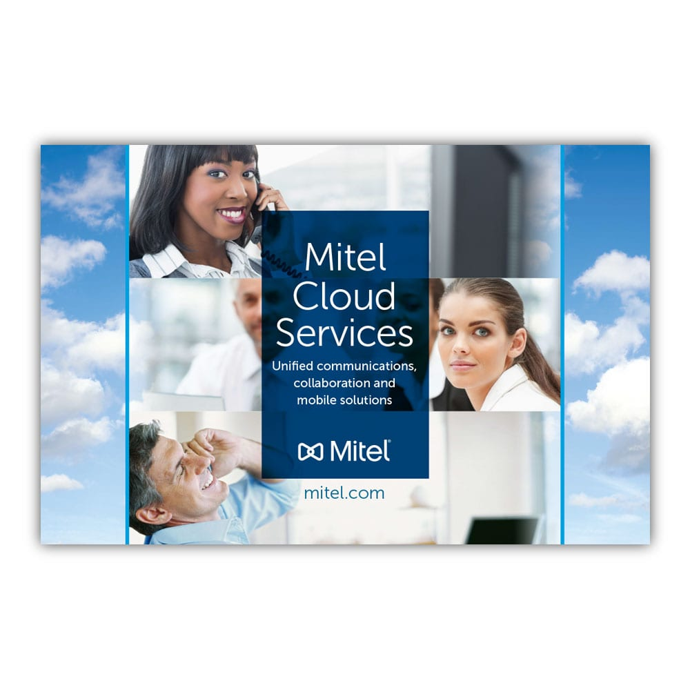 Mitel Cloud Services Tabletop Display