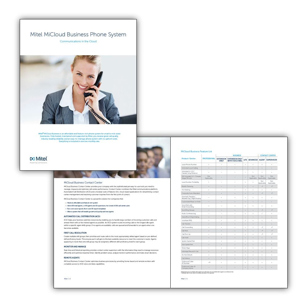 MiCloud Business Brochure