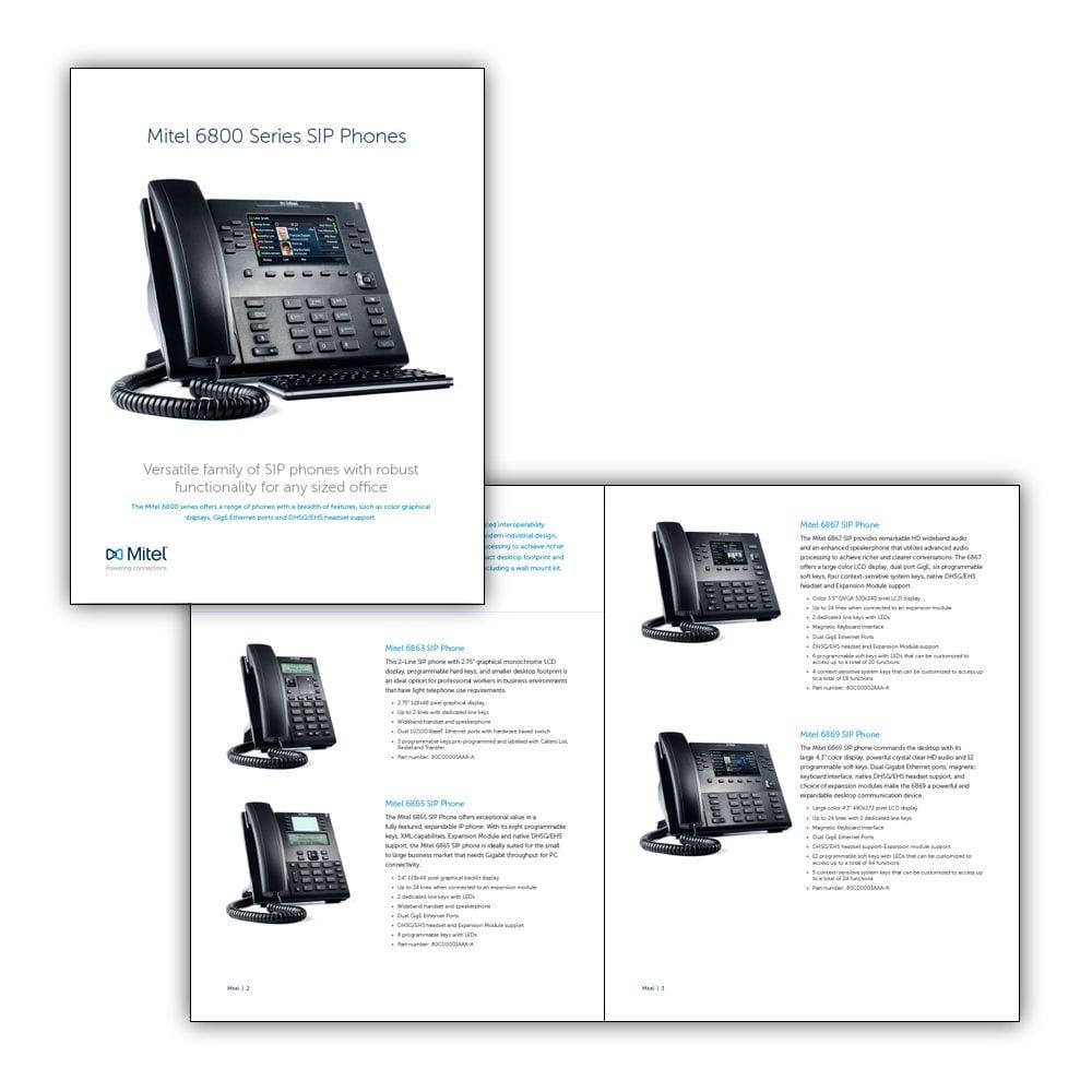 Mitel 6800 Brochure