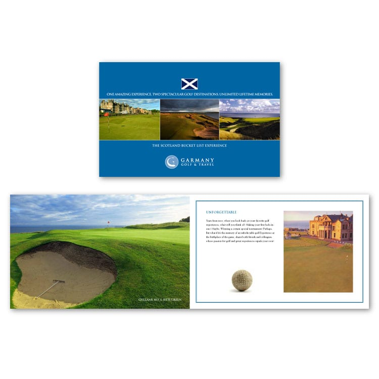 Garmany Golf & Travel Scotland Brochure