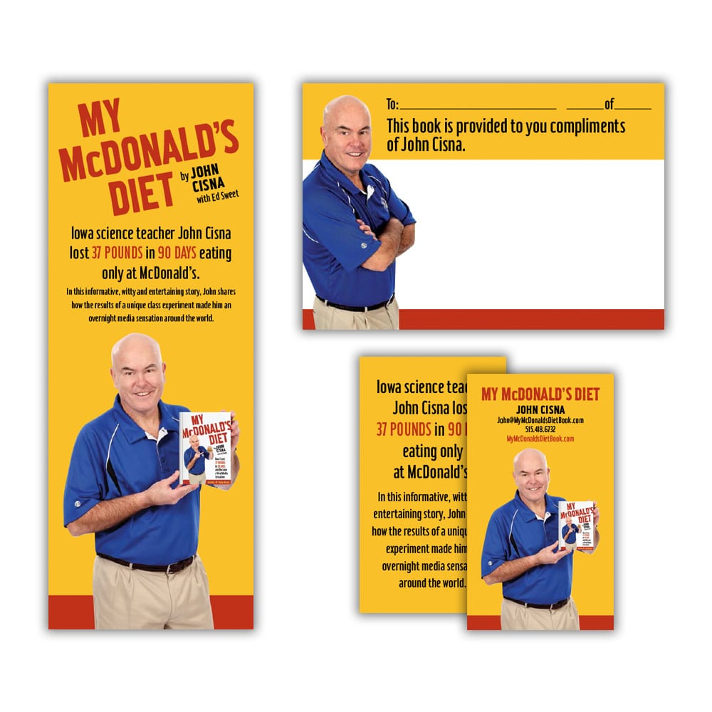 My McDonald's Diet Book Collateral