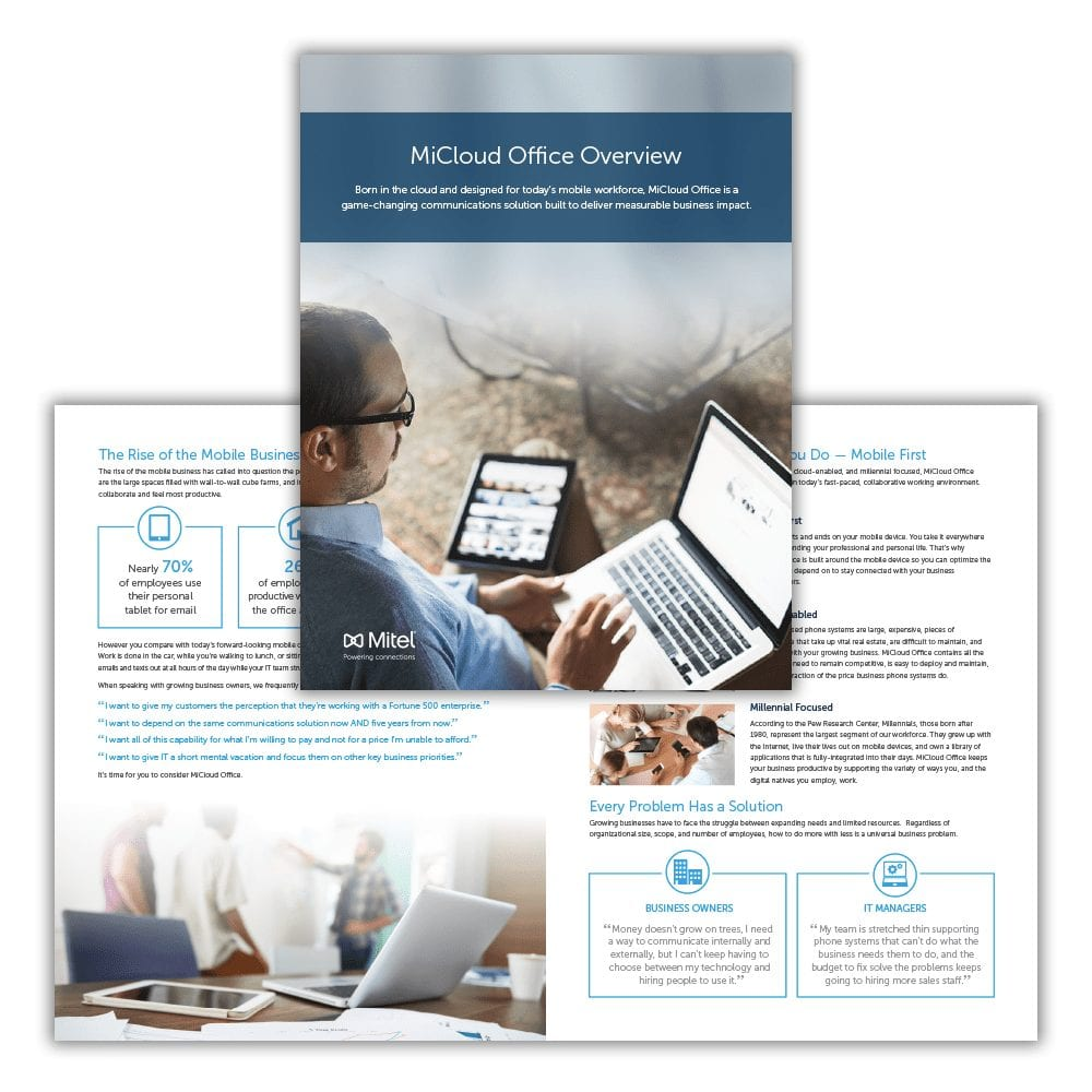 Mitel MiCloud Office Brochure