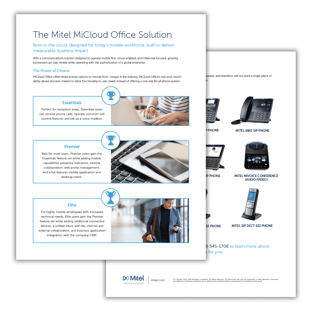 Mitel MiCloud Office Datasheet