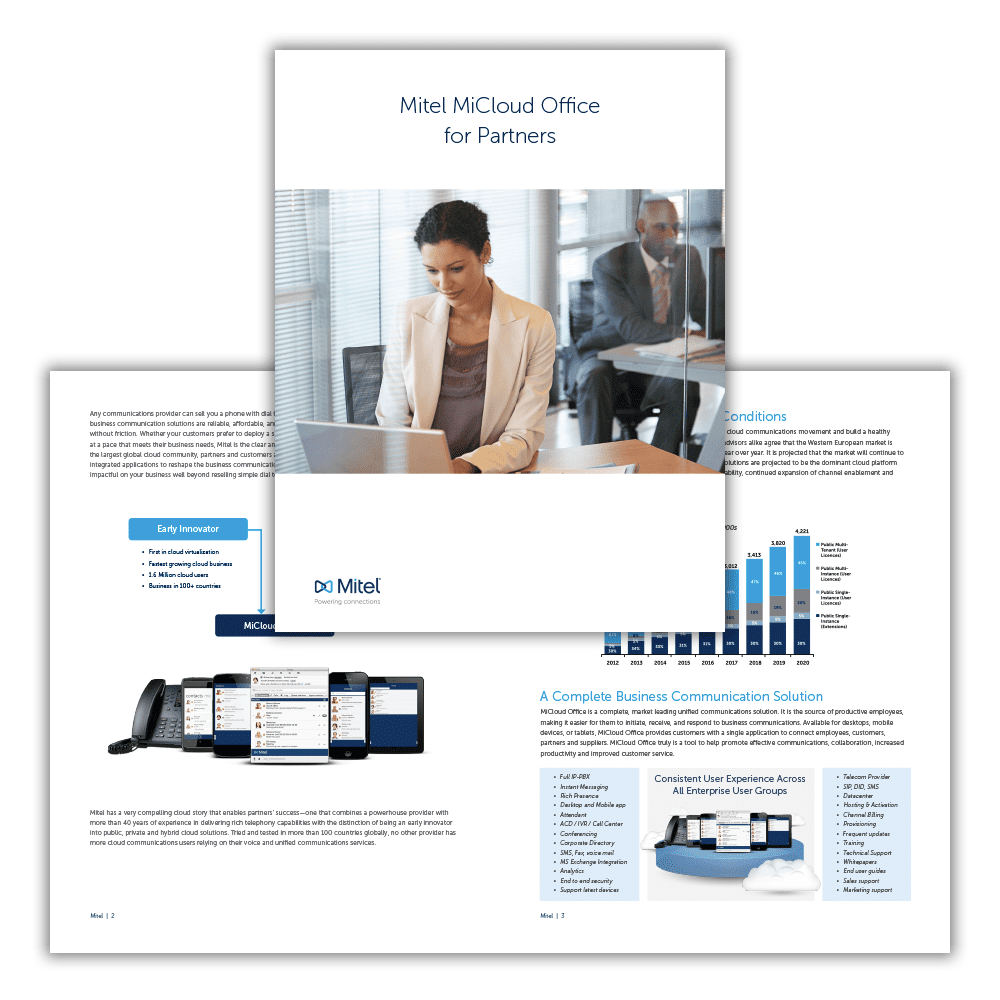 Mitel MiCloud Office Partner Brochure