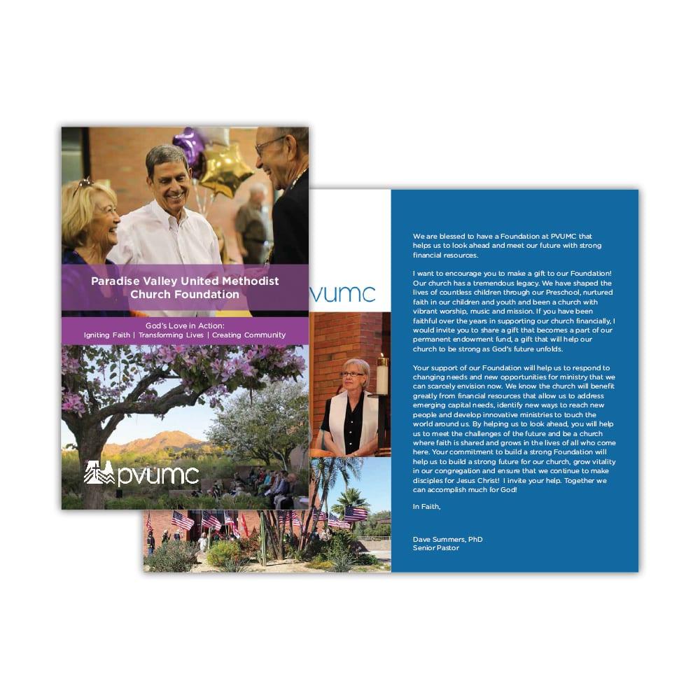 PVUMC Fundraising Brochure