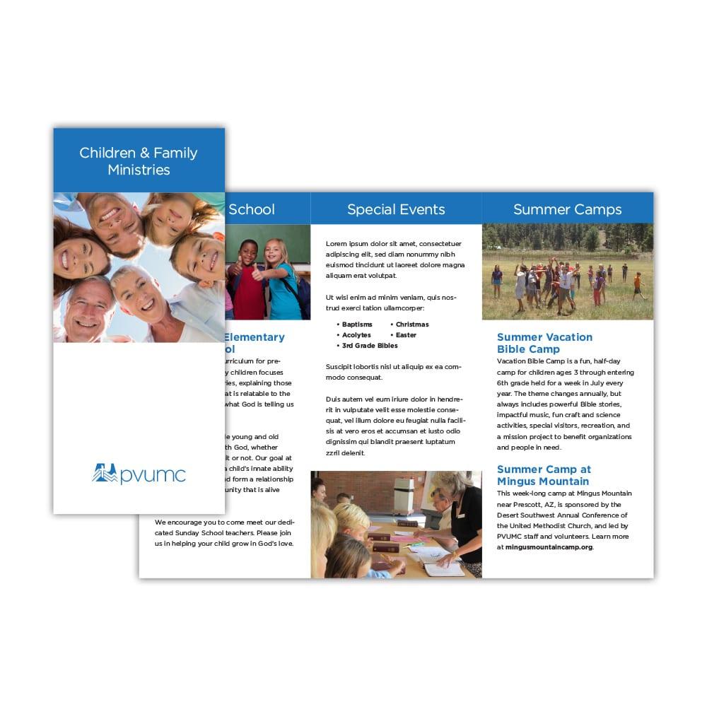 PVUMC Ministry Brochure